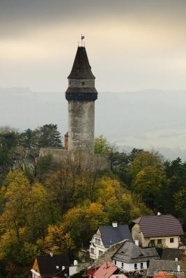 Pohled na Trúbu z Bílé hory