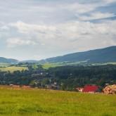 Pohled z Návsí na Jablunkovsko