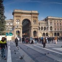Piazza del Duomo a Galleria Vittorio Emanuele II