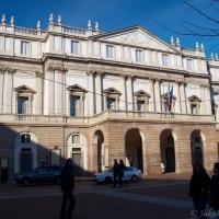 a s ní v kontrastu - slavná La Scala