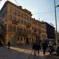 Běžná milánská ulice...