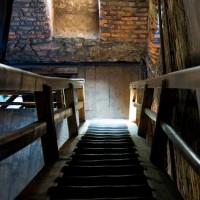 """Piastovská věž - schody jsou opravdu """"do nebe"""""""