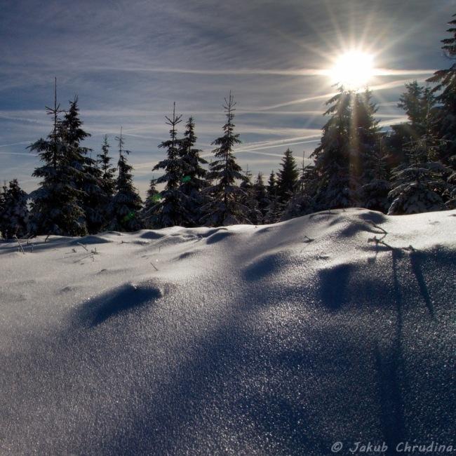 Bílej sníh...