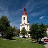 Kostel sv. Jana Nepomuckého na náměstí Štramberku
