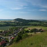Pohled z hradeb Štramberka