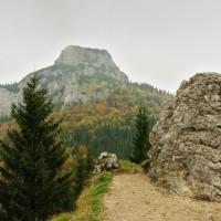 Pod Tanečnicou, pohled na Malý Rozsutec