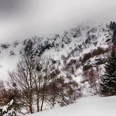 Zima 2018 vBeskydech a Jeseníkách a můj fotografický restart