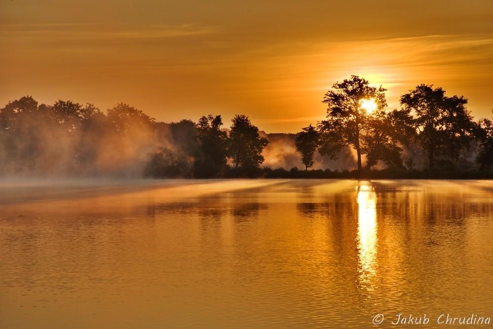 Východ slunce u Jistebníku