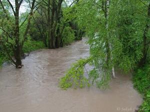 Povodeň na Lučině